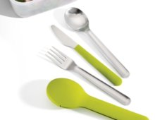 Set tacamuri GoEat_Cutlery_81033_green