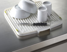 Flip Draining Board (White)